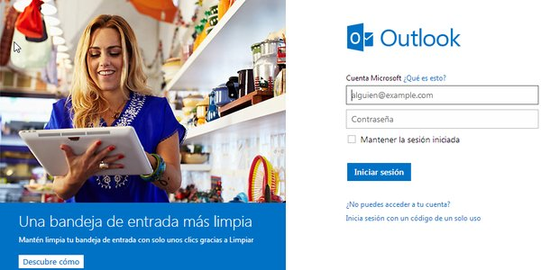 outlook imap