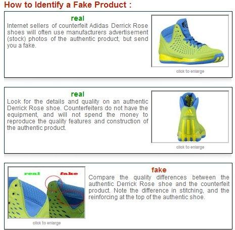 real vs falso