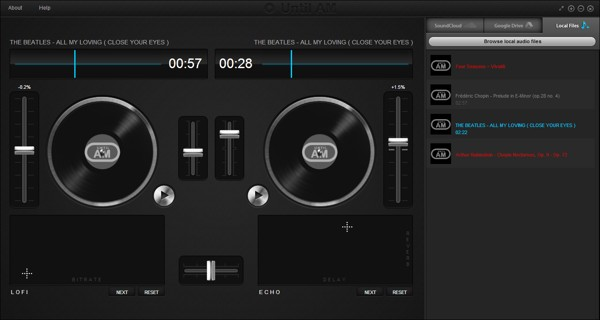 virtual dj chrome app