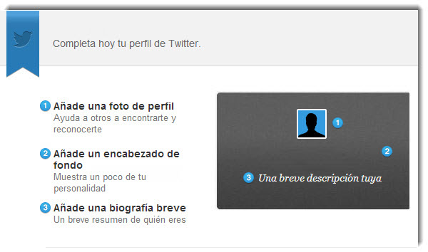 Perfil en Twitter