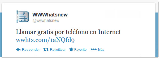 interacción en Twitter