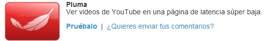 pluma youtube lite