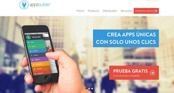 appsbuilder 6 excelentes opciones para crear apps móviles sin saber programar