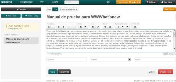 crear manuales multimedia manula