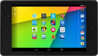 Aplicaciones educativas en Nexus 7