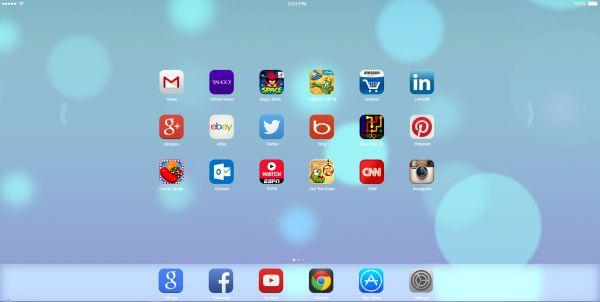 iOS7 Home