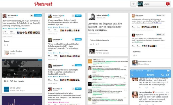 repetir tweets pinterest