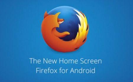Home Screen Firefox
