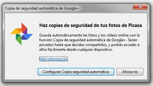 Google+ Auto Backup for Desktop