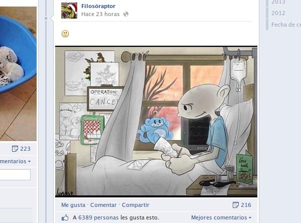 post con emoticon