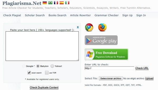 Plagiarisma Las 50 mejores herramientas online y gratuitas para profesores en 2014