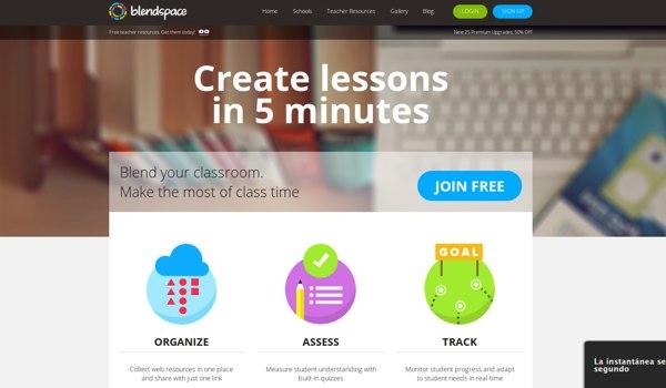 blendspace Las 50 mejores herramientas online y gratuitas para profesores en 2014