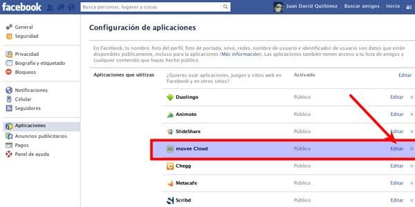facebook permisos aplicaciones 1