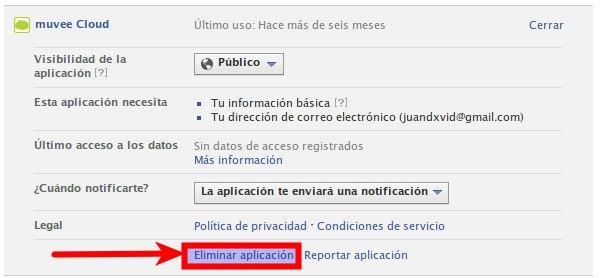 facebook permisos aplicaciones 2