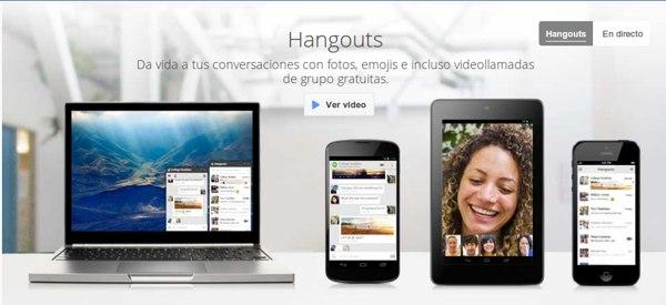 google hangouts Las 50 mejores herramientas online y gratuitas para profesores en 2014