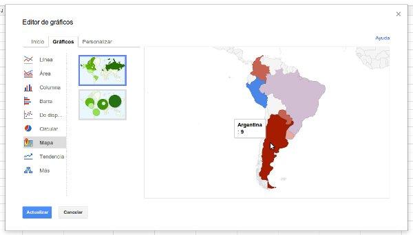grafico mapa