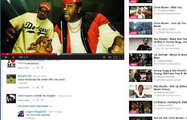 leer comentarios youtube