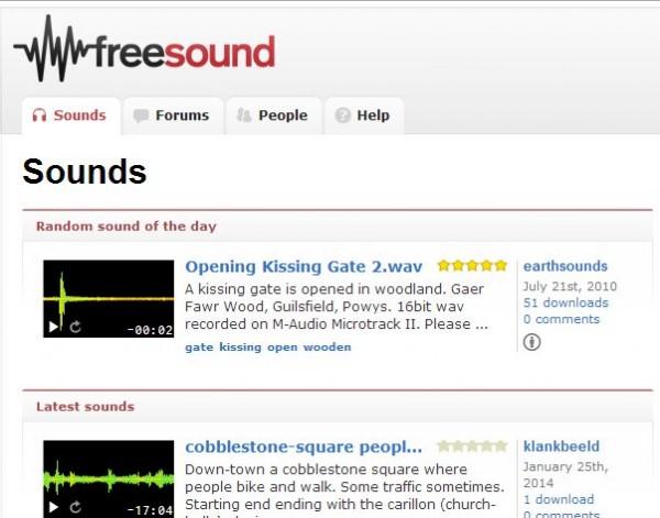 sonidos