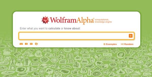 wolfram alpha Las 50 mejores herramientas online y gratuitas para profesores en 2014
