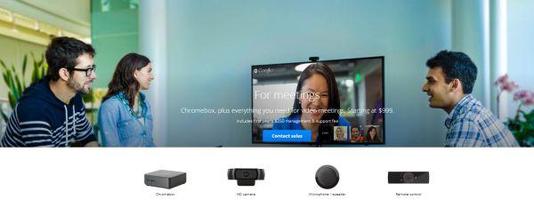 Chromebox para reuniones