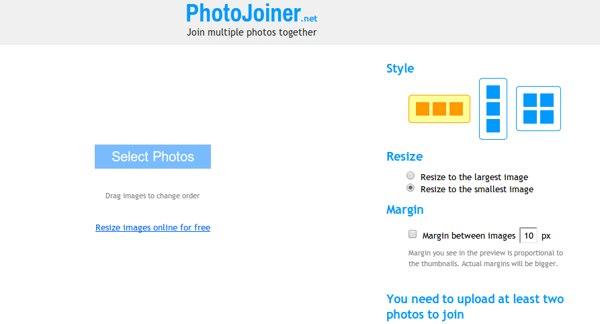 Photojoiner unir imagenes