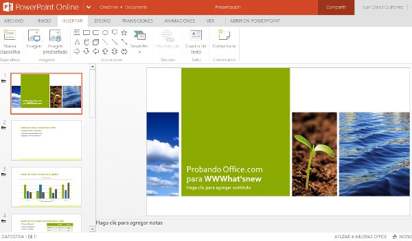 PowerPoint Online Office.com