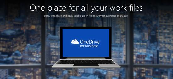OneDrive para Negocios