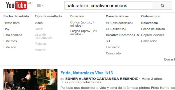 YouTube Creative Commons