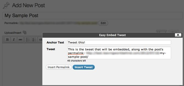 Easy Tweet Embed