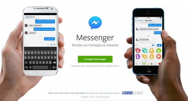 facebook messenger numero de usuarios