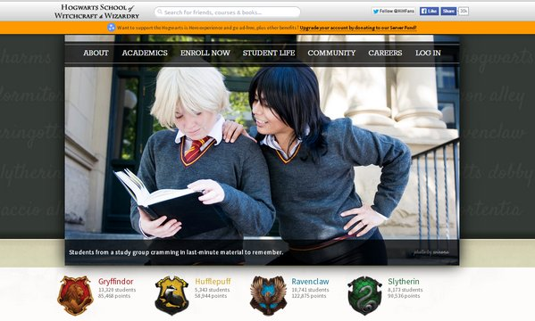 hogwarts cursos online