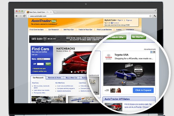 post ads google+
