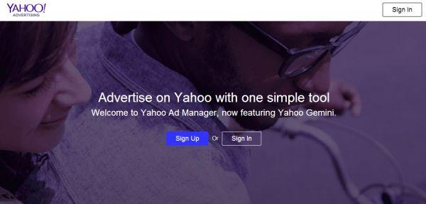 Yahoo Advertising
