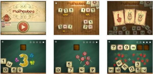 Juego de matemáticas para iPad