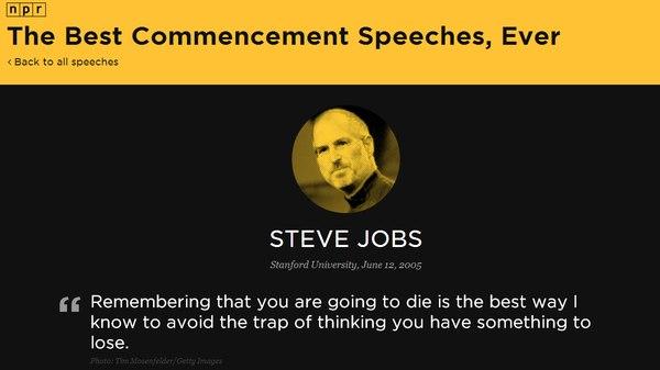 Los mejores discursos de graduación de la historia: Steve Jobs, JFK