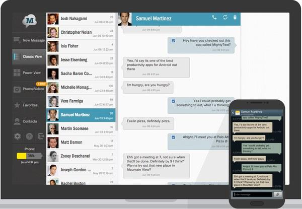 enviar sms desde el PC android