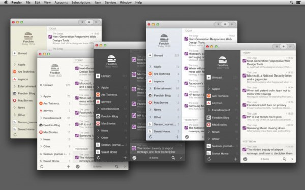 reeder 2 mac ios feeds