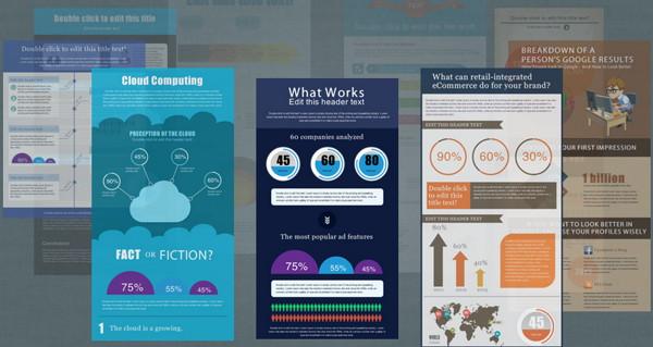 templates infografias