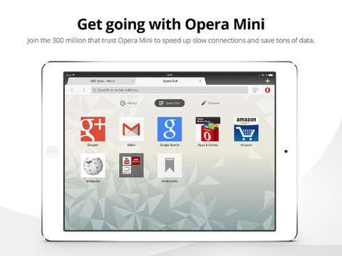 Opera Mini para iOS
