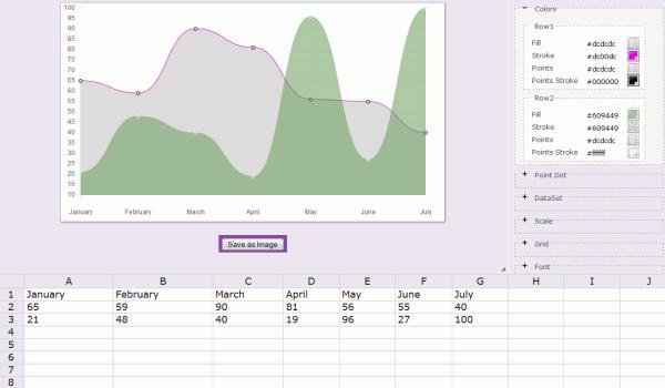 charts builder graficos excel miniexcel online