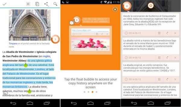 copy bubble portapapeles multiple (1) panorama