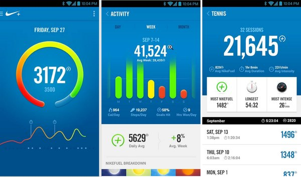 nike fuelband android