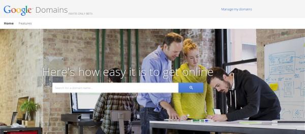 registrador de dominios google sitios web