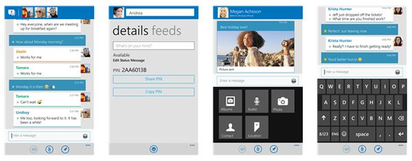 BlackBerry Messenger para Windows Phone 8