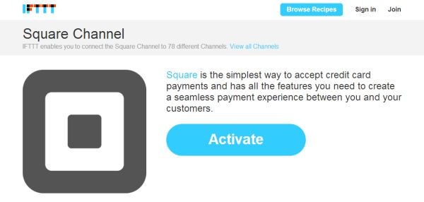 Square Channel