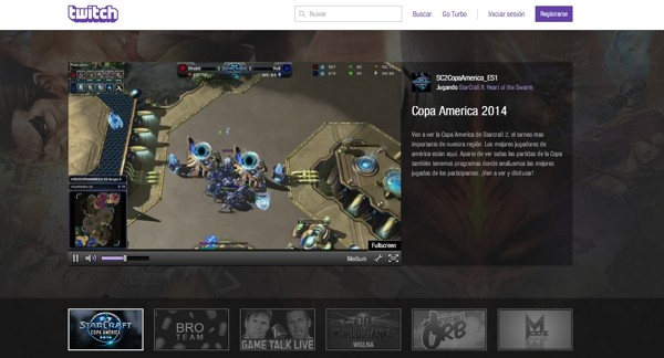 google youtube twitch streaming videojuegos