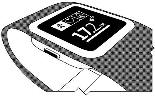 microsoft fitness band smartwatch reloj