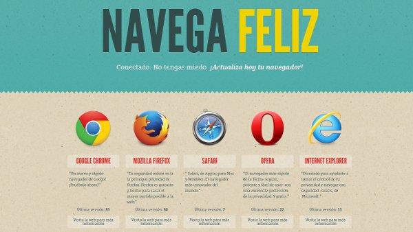 navegafeliz descargar navegadores