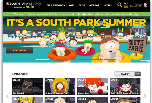 south park hulu