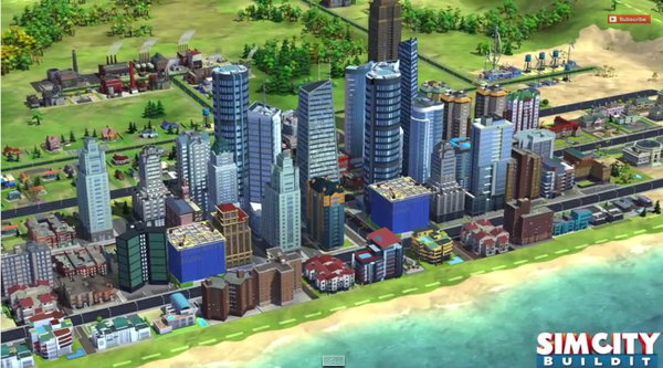 SimCity iOS Android